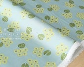 Japanese Fabric Kokka Muddy Works Tomotake - Eucalyptus - A - 50cm