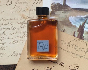 Foret de la Mer Natural Perfume Men's Fragrance Artisanal Small Batch made in Brooklyn, NY by Alchemologie