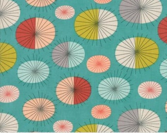 Ninja Cookies Fabric - Circle Star Burst