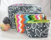 Color Pop Zippy Bag Set by AnniePurl