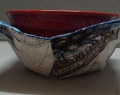 Microwave Bowl Cozy or Potholder Port Side Fabric