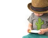 Cactus Hug T-Shirt - Organic Triblend
