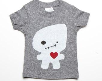 Grey Foodoo T-Shirt - Organic Triblend