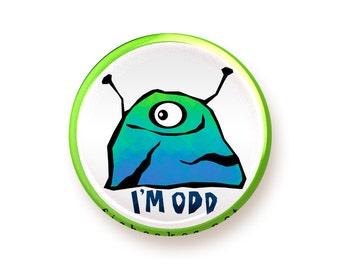 I'm Odd - button