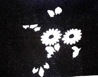 Japanese Stencil - Vintage Stencil - Kimono Stencil - Katagami Stencil - Flower Stencil - Chrysanthemum Flower Petals (ST1)