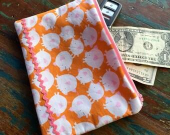 medium zipper pouch pig market