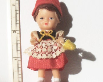 Vintage Little Rubber Doll