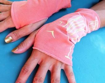 """Fingerless mittens """"Let the Sun Shine down"""""""
