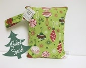 Diaper and Wipes Bag - Wet Bag - Take It On The Go Diaper And Wipes Bag - O' Tinsel Tree