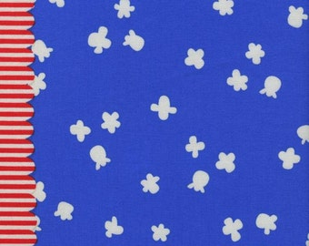 Popcorn Sky Blue by Kimberly Kight from her Penny Arcade collection for Cotton+Steel