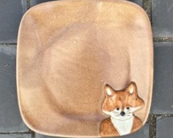 Vixan the Fox Dinner Plate