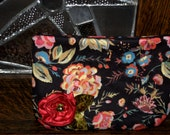 pretty floral clutch flower appllique