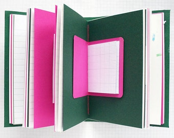 Memento Vivere - Travel Journal - 4.5 x 6 inch A6 - Travel Journal - Mixed Paper Journal - Bucket List Journal