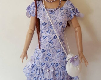 "Brilliant in Bows DRESS set for AGATHA PRIMROSE 13"" Tonner fashion body"