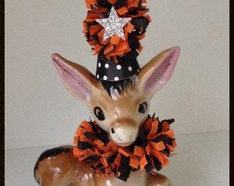 Halloween Decoration Vintage Donkey Halloween Ornament   TVAT