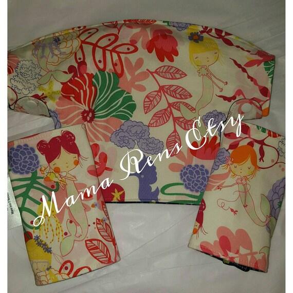 Custom Lillibaby bib and straight suck pads