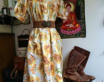 Vintage Housecoat Dress