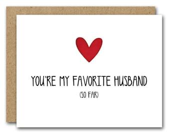 PRINTABLE Husband Card, Husband Birthday Card, Husband Valentines Day Card, Love Card, Couple Card, Funny Card, INSTANT DOWNLOAD