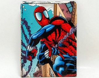Sewn Comic Book Wallet - Spider-Man
