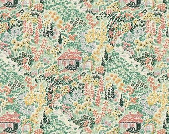 The Cottage - Enchanted by Dear Stella st-429MLT cotton fabric FAT QUARTER FQ