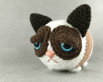 Grumpy Tsum - PDF amigurumi crochet pattern