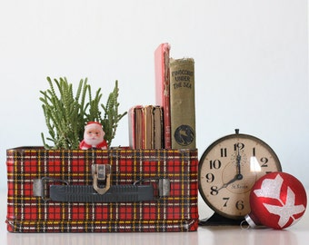 Vintage Plaid Lunch Box, by Ohio Art