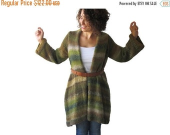 CLEARANCE 50% Alpaca Hand Knitted Cardigan by AFRA