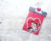 Vintage Valentine Note