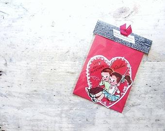 Valentine's Day Card, Vintage Valentine Note