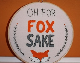 For Fox Sake Sampler