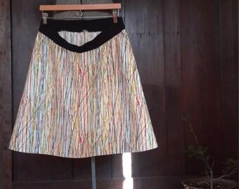 Maternity skirt pickup sticks