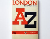 London Street Atlas and Index Guidebook