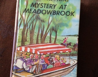 Vintage Bobbsey Twins Book 7 Mystery at Meadowbrook