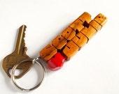 Koa Wood 2-Liner Love Key...
