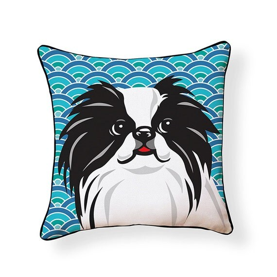 Pooch D 233 Cor Japanese Chin Pillow