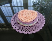 RESERVED for Sarah - Crocheted doilies, Set of 20