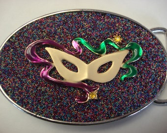 Masquerade Belt Buckle