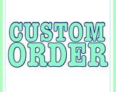 Banana and Carrot custom order