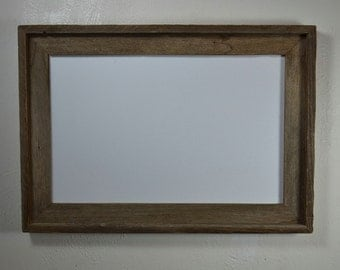 11x17 wood poster frame with unique natural colors and character