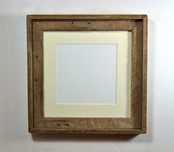 square picture frame 12x12 with mat for 10x10 or 8x8 photo or. Black Bedroom Furniture Sets. Home Design Ideas