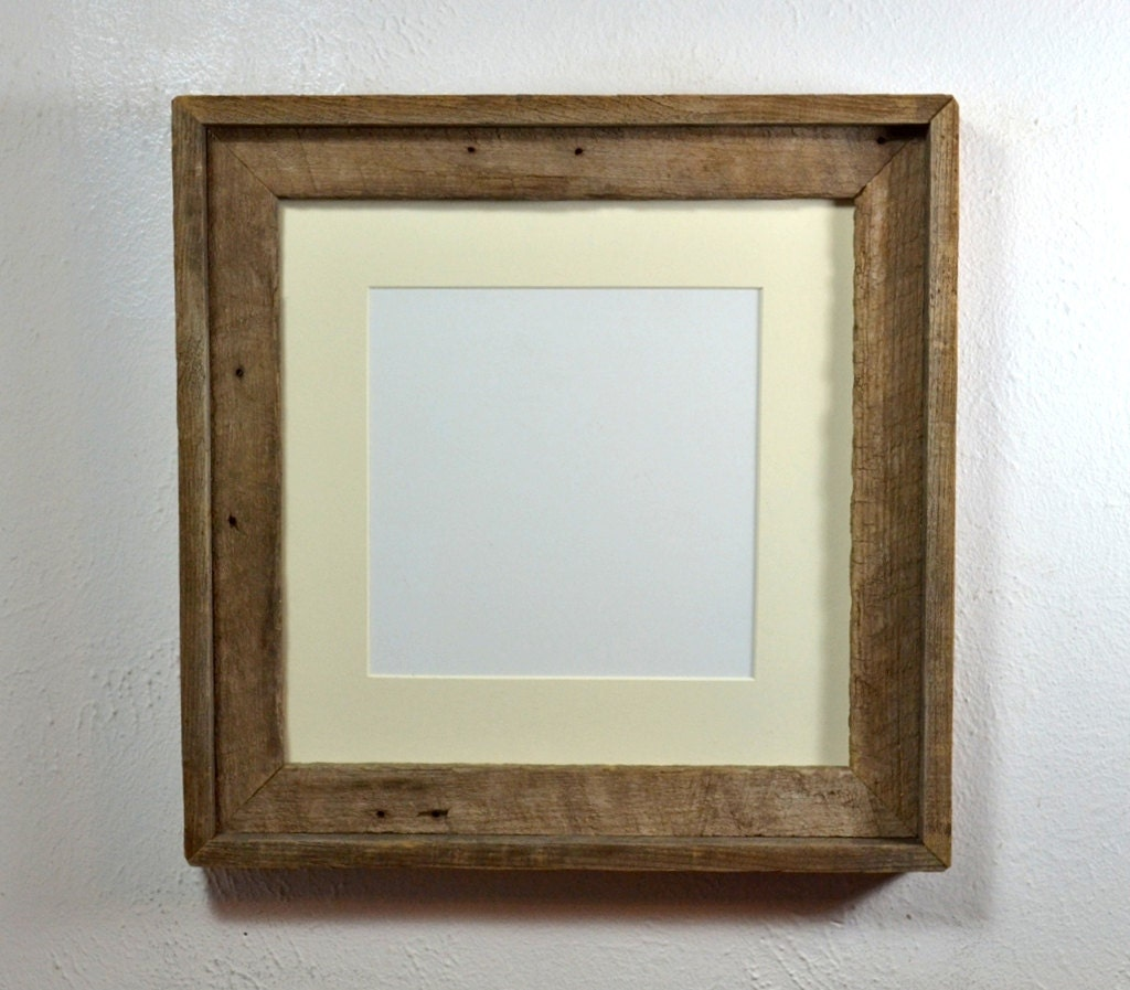 Square Picture Frame 12x12 With Mat For 10x10 Or 8x8 Photo Or