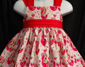 Strawberry SHORTCAKE Sun Jumper Dress Custom Size