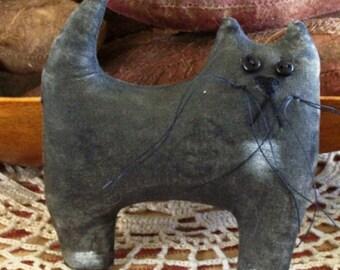 PATTERN PRIMITIVE KITTY Cat Ornament Tuck Instant Download Pattern