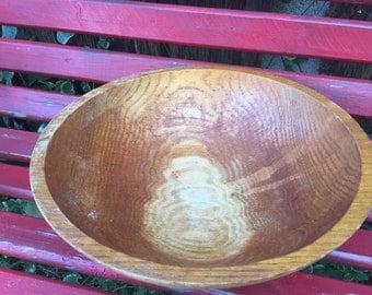 Vintage/Antique  Wood/Wooden Dough Bowl Nice Patina