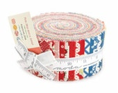 SALE Jelly Roll Strips - HOP SKIP and a JuMP Moda Fabrics by American Jane