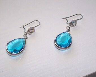 Turquoise Wedding Earrings