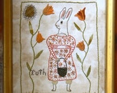 Humble Embroidery Pattern - RUTH - Digital Download from ©Notforgotten Farm