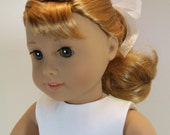 "Valentine Dress for 18"" 50's Doll"