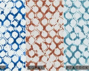 Custom John Robshaw Sata Drapes You pick the fabric and style - Lined
