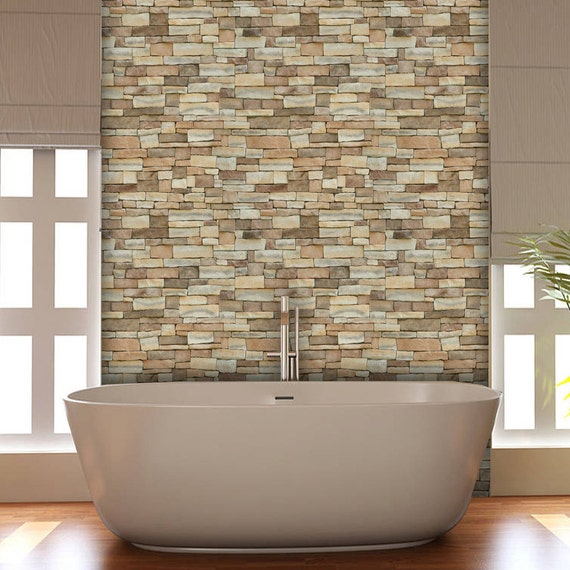 Ledgerstone Stone Easy Peel And Stick Wallpaper 8 39 Panel